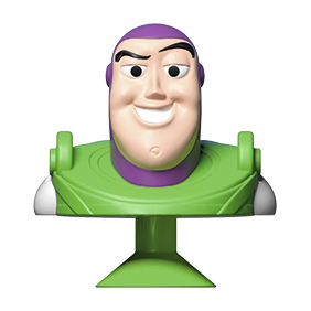 Disney figur Buzz Lightyear Micropopz hos Q8